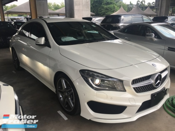 2014 MERCEDES-BENZ CLA CLA250 2.0 AMG COUPE JAPAN SPEC LIKE NEW