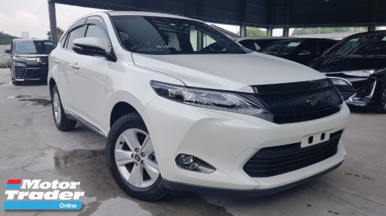 2017 TOYOTA HARRIER 2017 Toyota Harrier 2.0 Elegance Panaromic Roof 2 Tone Interior Alpine Minitor Unregister for sale