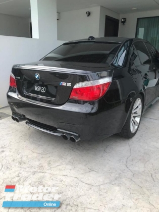 2007 BMW M5 E60 5.0 READY STOCK