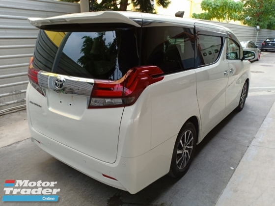 2015 TOYOTA ALPHARD 2.5 G 8 SEATER FULLY LOADED JBL HOME THEATER SURROUND CAMERA PRE-CRASH SUNROOF (A) OFFER UNREG