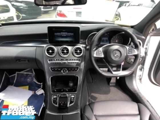 2014 MERCEDES-BENZ C-CLASS Unreg Mercedes Benz C200 2.0 AMG Sport Paddle Shift Bodykit Camera 7G