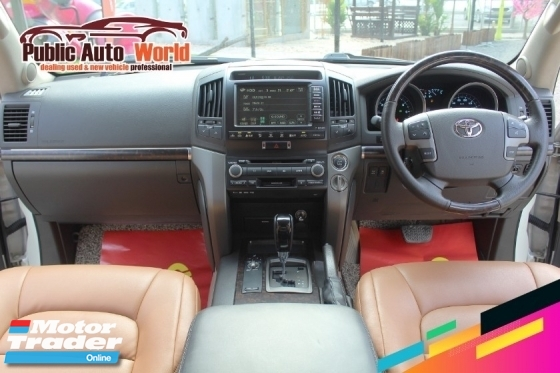 2008 TOYOTA LAND CRUISER ZX 60TH BLACK LEATHER SELECTION