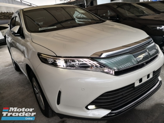 2017 TOYOTA HARRIER 2.0 FACELIFT SUNROOF 360 CAMERA UNREG