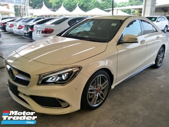 2017 MERCEDES-BENZ CLA 180 1.6cc TURBO NFL PRE CRASH MEMORY BUCKET SEATS REVERSE CAMERA SIDE MIRROR SENSOR