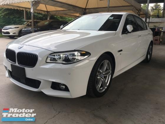 2014 BMW 5 SERIES 528I M-SPORTS DIGITAL METER SUN ROOF TWIN TURBOCHARGED 245HP NEW FACELIFT