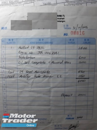 1998 PERODUA KANCIL turbo
