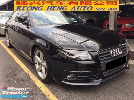 2011 AUDI A4 2.0 S-LINE CBU Push Start Actual Year Make