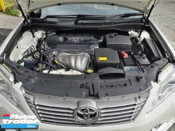 2012 TOYOTA CAMRY 2.5V (A) VVTI 1 CAREFUL OWNER PROMOTION PRICE.