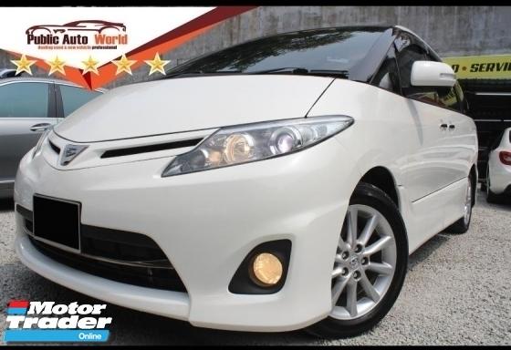 2009 TOYOTA ESTIMA Toyota ESTIMA 2.4 AERAS G 2PWDOOR PANORAMIC 7SEAT