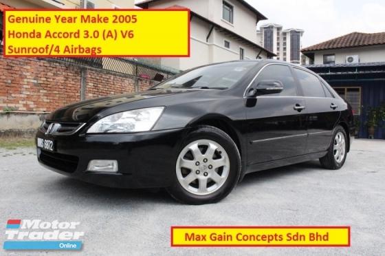 2005 HONDA ACCORD 3.0 (A) V6 (Ori Year Make 2005)(Sunroof)(Limited Edition)