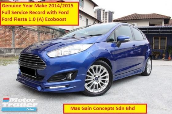 2014 FORD FIESTA 1.0 (A) Ecoboost Turbo (Ori Year Make 2014 Reg 2015)(Full Service Record)(Warranty till 2025)