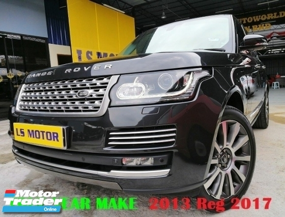 2013 LAND ROVER RANGE ROVER VOGUE 2017 AUTOBIOGRAPHY 4.4 DIESEL EURO5 (AUTO) HIGHEST SPEC- ORI MILEAGE 26K KM DONE ONLY- FULL SERVICE RECORD - AUTO SIDE STEP - PANAROMIC ROOF -MERIDIAN SOUND SYS - FULL LOAN - RM0 D.PAYMENT....
