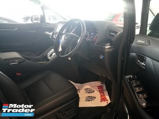 2018 TOYOTA VELLFIRE 2.5 ZG New Facelift Full Leather Pre Crash Unreg 18