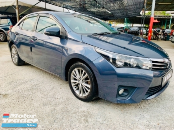 2014 TOYOTA COROLLA ALTIS 1.8 E FACELIFT 1 SINGLE OWNER
