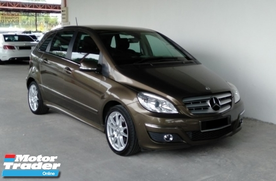 2012 MERCEDES-BENZ B-CLASS B180 1.7 Auto Limited Facelift Model