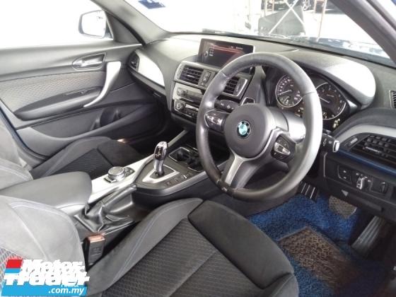 2017 BMW 1 SERIES 120i 1.6T M-Sport 8-Speed Original Model