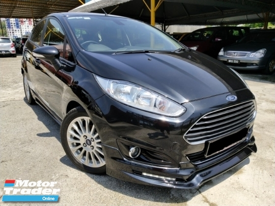 2013 FORD FIESTA ECO BOOST S