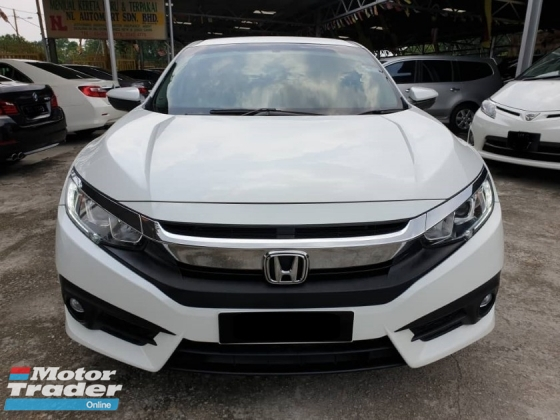 2016 HONDA CIVIC 1.8S I VTEC FULL SERVICE HONDA MALAYSIA 5 YEARS WARRANTY ~NICE NUMBER 188~