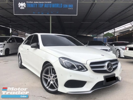 2013 MERCEDES-BENZ E-CLASS E250 AVANTGARDE AMG JAPAN IMPORTED