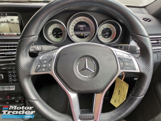 2014 MERCEDES-BENZ E-CLASS E250 AMG FACELIFT 4CAM SUNROOF FULL SPEC UNREG