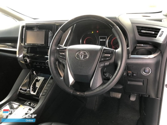 2018 TOYOTA ALPHARD 2.5 SC NEW FACELIFT  ACTUAL YEAR MAKE 2018