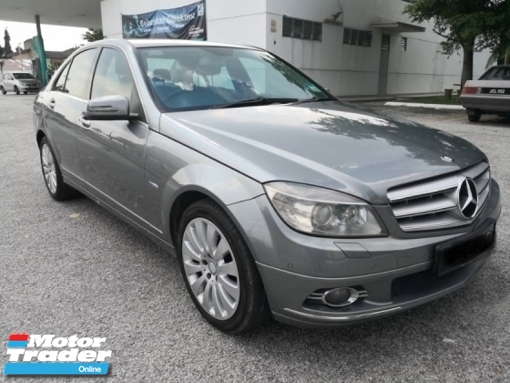 2011 MERCEDES-BENZ C-CLASS C200 CGI BLUE EFFICIENCY AVANTGARDE