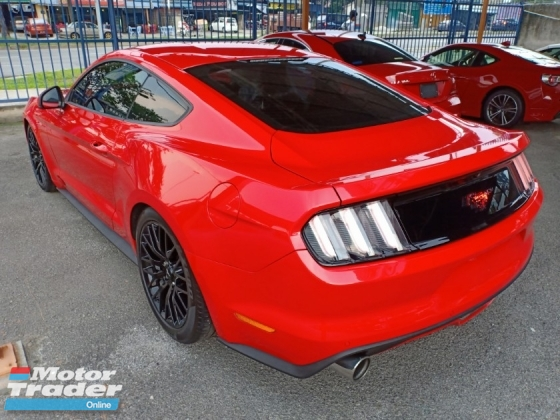 2016 FORD MUSTANG 2.3 ECOBOOST COUPE SHAKER AUDIO MUSCLE CAR (A) PROMOSI RAYA