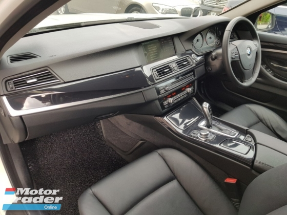 2012 BMW 5 SERIES 520i 2.0 TWIN POWER TURBO
