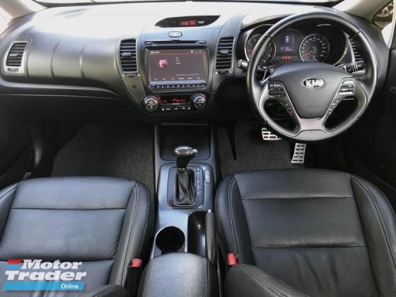 2015 KIA CERATO 1.6 FULL SPEC LEATHER SEAT & ELECTRONIC SEAT