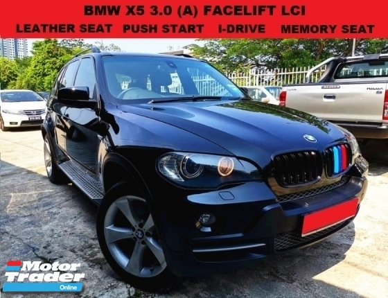 2007 BMW X5 3.0 FACELIFT SUV LCI (A) I DRIVE LEATHER SEAT MEMORY SEAT MULTI FUNCTION STEERING