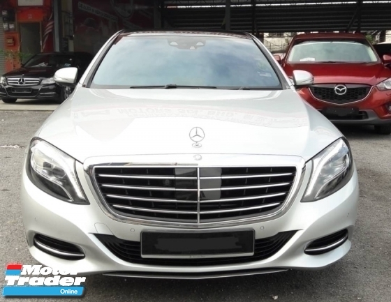 2016 MERCEDES-BENZ S-CLASS S400 L HYBRID PETROL MAY 2016 GUARANTEE ORIGINAL 13900 KM FULL SERVICE RECORD