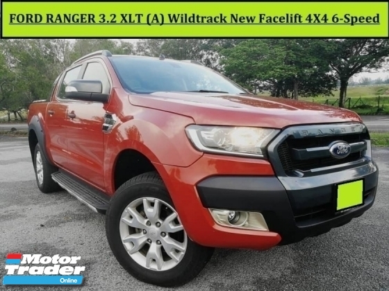 2014 FORD RANGER 3.2 (A) 4X4 WILDTRAK FACELIFT Reverse Camera L/Seats 2014