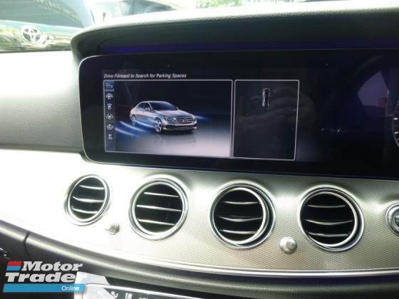 2017 MERCEDES-BENZ E-CLASS E200 FULL SPEC. GENUINE MILEAGE. HIGHEST GRADE CAR. PROVIDE WARRANTY. E250 E300 BMW AUDI MERCEDES