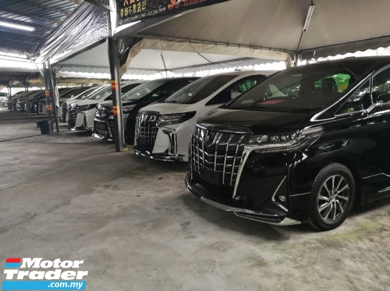 2018 TOYOTA VELLFIRE 2.5 ZG JBL SUNROOF 3LED UNREG 2018