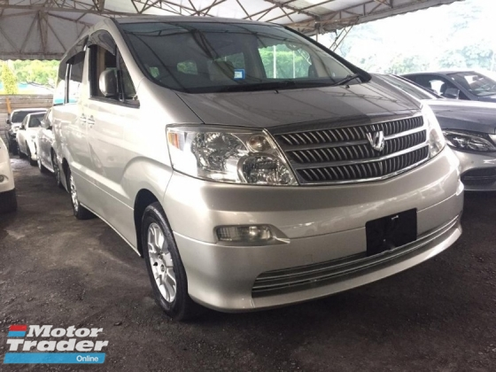 2005 TOYOTA ALPHARD 2.4 Power Doors, Reverse Camera, REG 2009