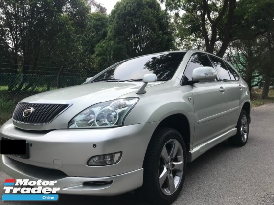 2004 TOYOTA HARRIER 2.4 (A)  PREMIUM L - SUPERB CONDITION ALMOST LIKE NEW
