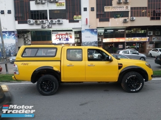 2011 FORD RANGER 2.5 XL TDI 4X4 DOUBLE CAB