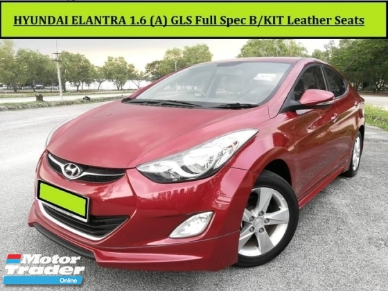 2012 HYUNDAI ELANTRA 1.6 (A) GLS HIGH SPEC Leather Seat Push Start Free Warranty
