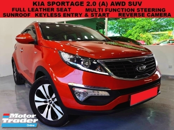 2013 KIA SPORTAGE 2.0 DOHC (A) AWD SUV SUN & MOONROOF KEYLESS ENTRY & START LEATHER SEAT REVERSE CAMERA