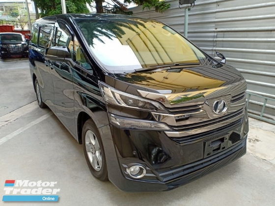 2016 TOYOTA VELLFIRE 2.5 X PACKAGE 8 SEATER 2 POWER DOOR R/CAMERA R/MONITOR (A) PROMOSI RAYA