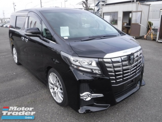 2016 TOYOTA ALPHARD 2.5 SC FULL LOADED SPEC SUNROOF JBL HOME THEATER PRE CRASH