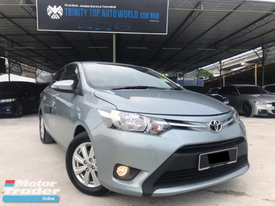 2014 TOYOTA VIOS 1.5E (AT) LIKE NEW CONDITION, FULL SERVIS, SALE HARI RAYA, ALL ORIGINAL PART, BLACK INTEROR, KUALITI TERJAMIN, DEAL SAMPAI JADI