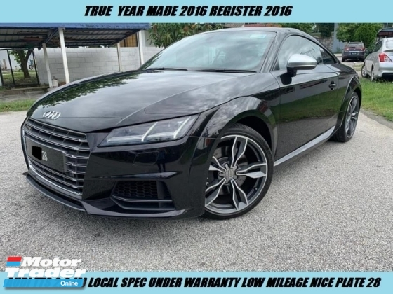 2016 AUDI TTS QUATTRO LOCAL SPEC UNDER WARRANTY NICE VIP PLATE 28