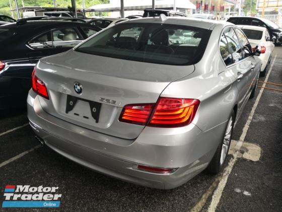 2014 BMW 5 SERIES 520i FACELIFT JAPAN UNREG