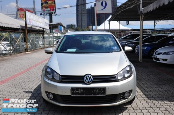 2011 VOLKSWAGEN GOLF 1.4 TSI GENUINE YEAR MAKE 2011 FULL SERVICE RECORD AT VOLKSWAGEN MALAYSIA