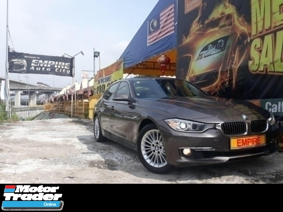 2015 BMW 3 SERIES 320i LUXURY 2.0 ( A ) F30 TWIN POWER TURBO !! FULL SERVICE RECORD BY AUTO BAVARIA !! NEW FACELIFT !! PREMIUM FULL SPECS COMES WITH PUSH START / I-DRIVE AND ETC !! ( X 8421 X ) 1 CAREFUL OWNER !!