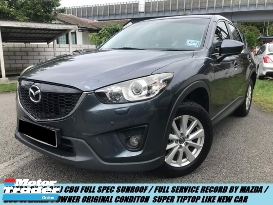 2016 MAZDA CX-5 2.0 PREMIUM 2WD HIGH SPEC LOW MILEAGE SUPER SHOWROOM CONDITION LIKE NEW ONE OWNER