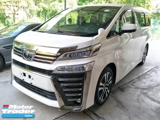 2018 TOYOTA VELLFIRE 2.5 NFL 3 LED HEADLAMPS PRE CRASH STOP SYSTEM AUTO CRUISE 360 SURROUND CAMERA MEMORY LEATHER PILOT