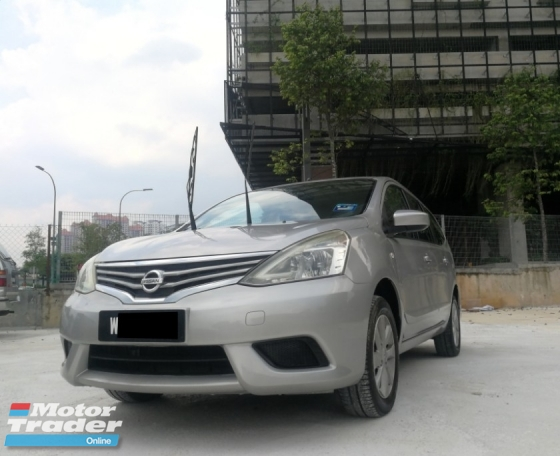 2013 NISSAN GRAND LIVINA 1.6 (A) EXCELLENT CONDITION ** HIGH LOAN AVAILABLE ** SPECIAL PROMOTION **
