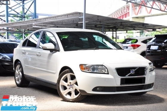 2010 VOLVO S40 Genuine Year Make 2010 Full Service Record Volvo Malaysia